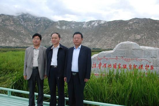 刘一帆赴西藏调研交流对口支援工作 -江苏省环保厅